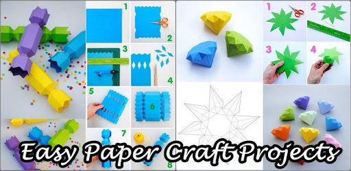 Easy Paper Craft Project Ideas pc screenshot
