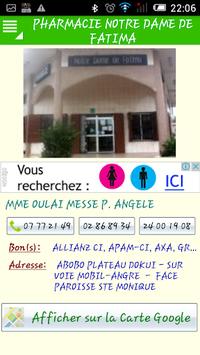 Pharmacie de Garde CI et Prix APK screenshot 1