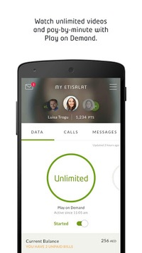 My Etisalat UAE APK screenshot 1