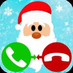 fake call Christmas game icon