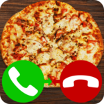 fake call pizza game 2 icon