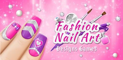 Fashion Nail Art Designs Game pc screenshot