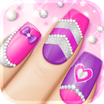 Fashion Nail Art Designs Game icon