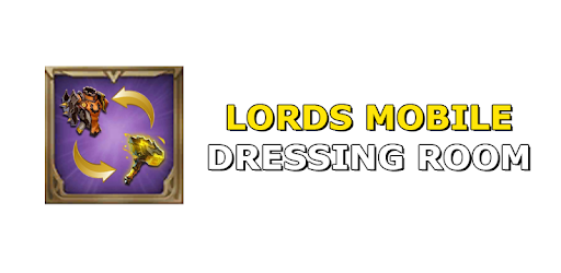 Dressing room - Lords mobile pc screenshot