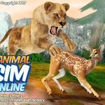 Animal Sim Online: Big Cats 3D icon