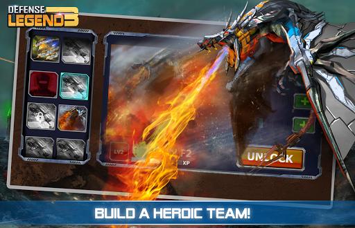 Defense Legend 3: Future War APK screenshot 1