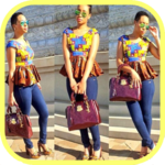 African fashion style - Ankara style for women icon