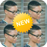 Hair cut app for women - short hair styles women icon