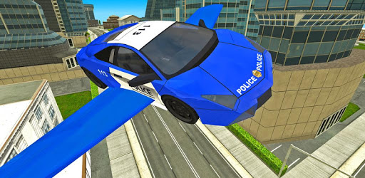 Police Flying Cars Futuristic Sim 3D pc screenshot