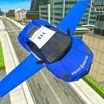 Police Flying Cars Futuristic Sim 3D APK icon