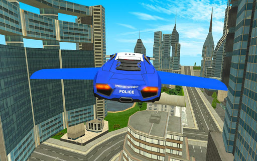 Police Flying Cars Futuristic Sim 3D APK screenshot 1