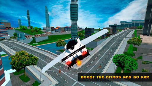 Flying Car Real Driving APK screenshot 1