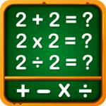 Math Games, Learn Add, Subtract, Multiply & Divide icon