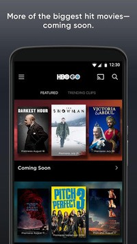 HBO GO: Stream with TV Package APK screenshot 1