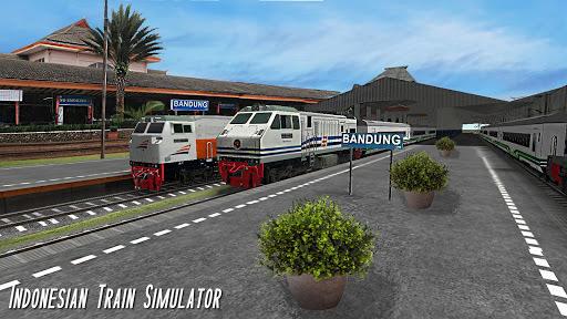 Indonesian Train Simulator APK screenshot 1