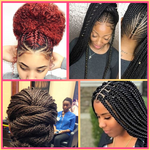 African braid hairstyles for Women icon