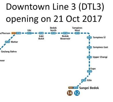 Singapore MRT Map 2019 (Latest!) APK screenshot 1