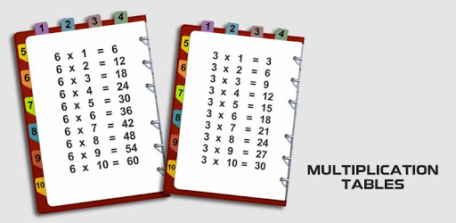 Multiplication table: fast math tables to 100 pc screenshot