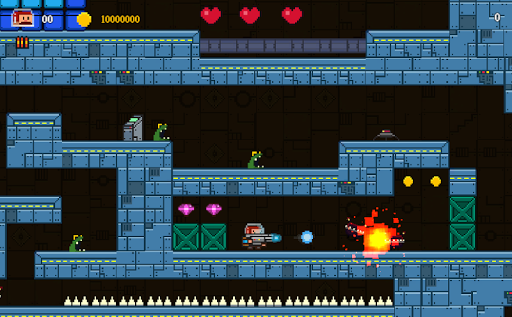 Super Mustache- platform action adventure fun game APK screenshot 1