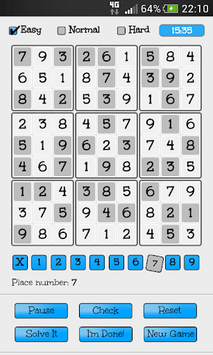 Sudoku Free pc screenshot 1