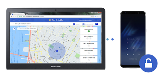 Tracker for Samsung - Lost your phone? pc screenshot