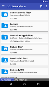 1Tap Cleaner (clear cache, history and call log) APK screenshot 1