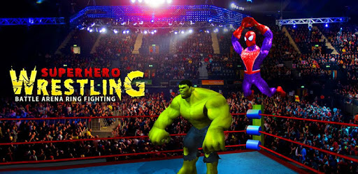 Superhero Wrestling Battle Arena Ring Fighting pc screenshot