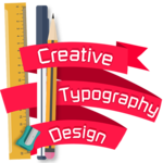 Creative Typography Design for pc icon