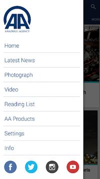 Anadolu Agency APK screenshot 1