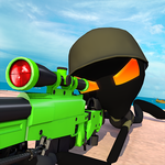 Stickman Battle : Online Shooter 3D icon