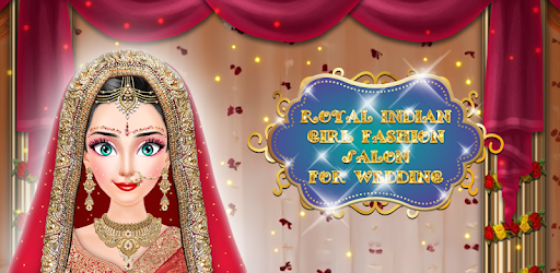 Royal Indian Girl Fashion Salon For Wedding pc screenshot