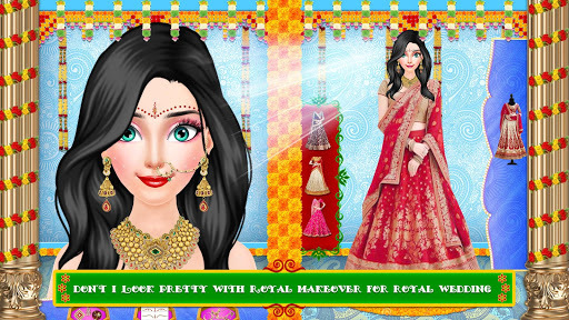 Royal Indian Girl Fashion Salon For Wedding APK screenshot 1