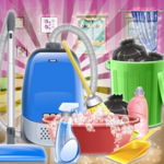 Sweet Girls House Cleaning  - My Home Cleanup Game icon