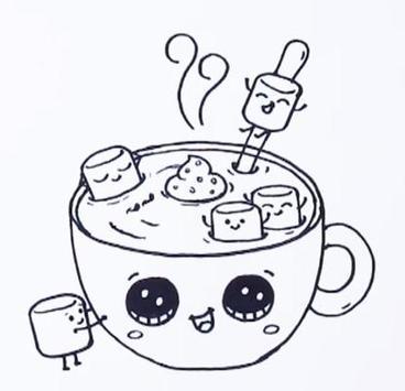 How To Draw Drink APK screenshot 1