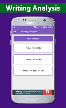 IELTS Writing 2019 APK screenshot 1