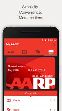 AARP Now App: News, Events & Membership Benefits APK screenshot 1