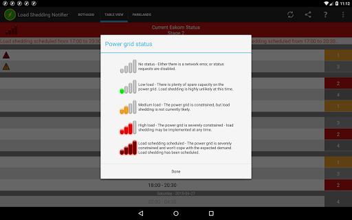 Load Shedding Notifier APK screenshot 1