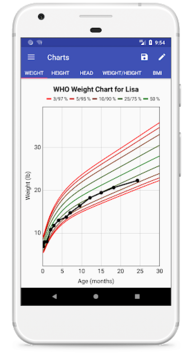 Child Growth Tracker APK screenshot 1