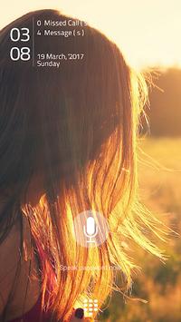 Voice Lock Screen APK screenshot 1