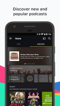 Acast - Podcast Player APK screenshot 1