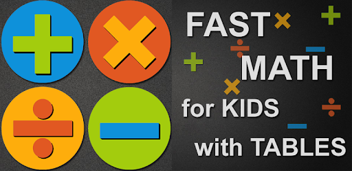 Fast Math for Kids with Tables pc screenshot
