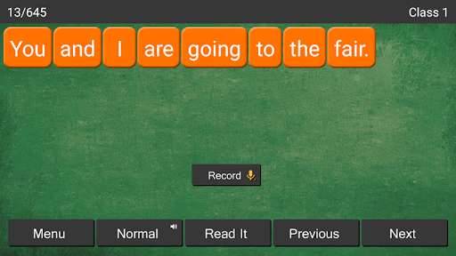 Kids Learn English Reading APK screenshot 1