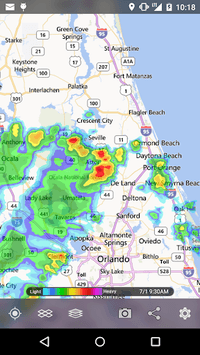 MyRadar Weather Radar apk screenshot 2