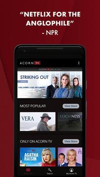 Acorn TV: World-class TV from Britain and Beyond APK screenshot 1