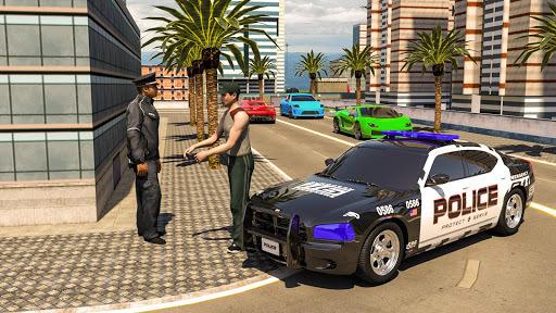 Crime City Cop Car: Driver 3D Police 2018 APK screenshot 1