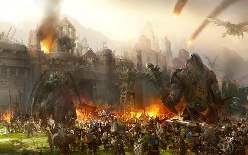 Legacy Of Warrior : Action RPG Game APK screenshot 1
