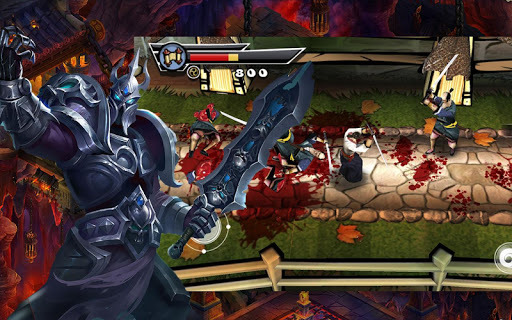 Revenge of samurai warrior APK screenshot 1