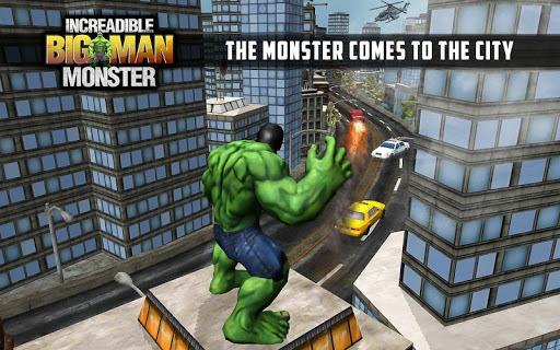 Incredible Monster Big Man Fighting Hero APK screenshot 1