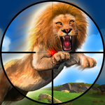 Lion Hunting - 2017 Sniper 3D icon
