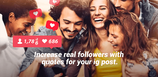 FollowersGrow - Get Inspired  Quotes for Likes pc screenshot